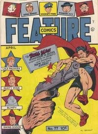 Cover Thumbnail for Feature Comics (Quality Comics, 1939 series) #77