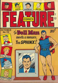 Cover Thumbnail for Feature Comics (Quality Comics, 1939 series) #115