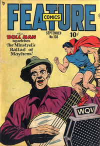 Cover Thumbnail for Feature Comics (Quality Comics, 1939 series) #138