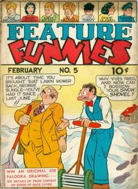 Cover Thumbnail for Feature Funnies (Quality Comics, 1937 series) #5