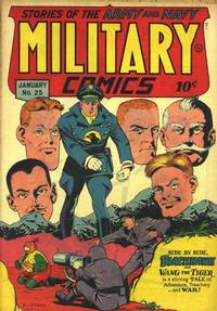 Cover for Military Comics (1941 series) #25