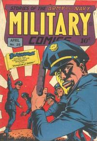 Cover Thumbnail for Military Comics (Quality Comics, 1941 series) #28