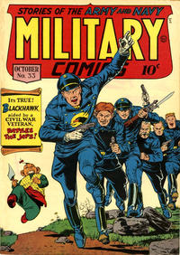 Cover Thumbnail for Military Comics (Quality Comics, 1941 series) #33