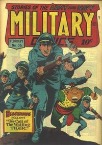 Cover Thumbnail for Military Comics (Quality Comics, 1941 series) #36