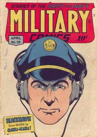 Cover Thumbnail for Military Comics (Quality Comics, 1941 series) #38