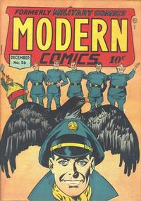 Cover Thumbnail for Modern Comics (Quality Comics, 1945 series) #56