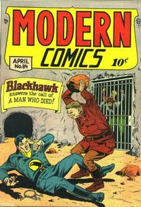 Cover Thumbnail for Modern Comics (Quality Comics, 1945 series) #84