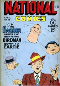 Cover Thumbnail for National Comics (Quality Comics, 1940 series) #59