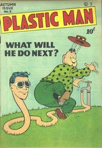 Cover Thumbnail for Plastic Man (Quality Comics, 1943 series) #9