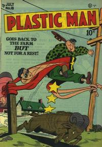 Cover Thumbnail for Plastic Man (Quality Comics, 1943 series) #18