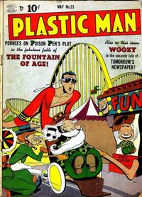 Cover Thumbnail for Plastic Man (Quality Comics, 1943 series) #23