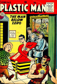 Cover Thumbnail for Plastic Man (Quality Comics, 1943 series) #55
