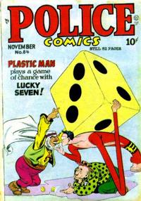 Cover for Police Comics (1941 series) #84