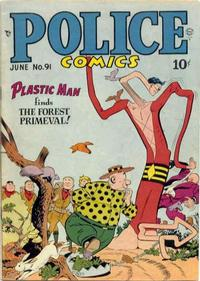 Cover Thumbnail for Police Comics (Quality Comics, 1941 series) #91