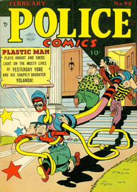 Cover Thumbnail for Police Comics (Quality Comics, 1941 series) #98
