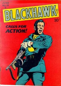 Cover for Blackhawk (Quality Comics, 1944 series) #19
