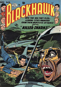 Cover Thumbnail for Blackhawk (Quality Comics, 1944 series) #50