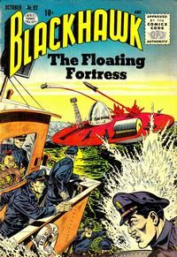 Cover Thumbnail for Blackhawk (Quality Comics, 1944 series) #93