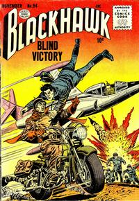 Cover Thumbnail for Blackhawk (Quality Comics, 1944 series) #94