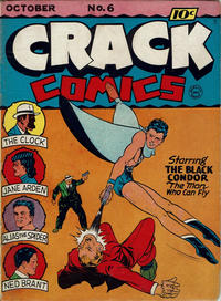 Cover Thumbnail for Crack Comics (Quality Comics, 1940 series) #6