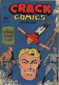 Cover Thumbnail for Crack Comics (Quality Comics, 1940 series) #35