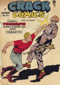 Cover Thumbnail for Crack Comics (Quality Comics, 1940 series) #58