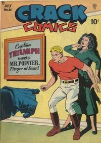Cover Thumbnail for Crack Comics (Quality Comics, 1940 series) #61