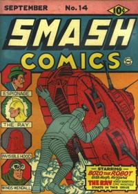 Cover Thumbnail for Smash Comics (Quality Comics, 1939 series) #14