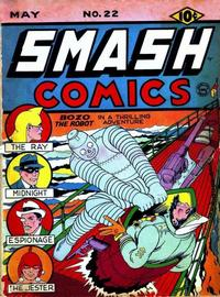 Cover Thumbnail for Smash Comics (Quality Comics, 1939 series) #22