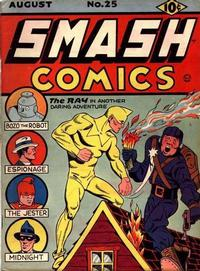 Cover Thumbnail for Smash Comics (Quality Comics, 1939 series) #25