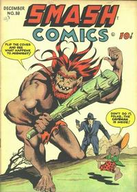 Cover Thumbnail for Smash Comics (Quality Comics, 1939 series) #38