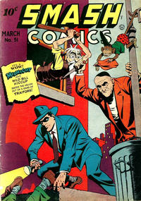 Cover Thumbnail for Smash Comics (Quality Comics, 1939 series) #51