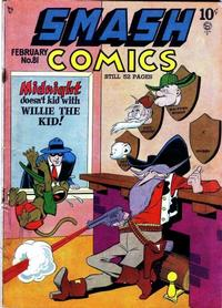 Cover for Smash Comics (Quality Comics, 1939 series) #81