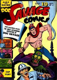Cover for Doc Savage Comics (Street and Smith, 1940 series) #v1#5 [5]