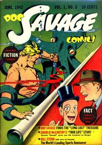 Cover Thumbnail for Doc Savage Comics (Street and Smith, 1940 series) #v1#8 [8]