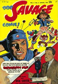 Cover for Doc Savage Comics (Street and Smith, 1940 series) #v2#6 [18]