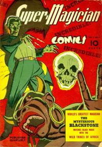 Cover Thumbnail for Super-Magician Comics (Street and Smith, 1941 series) #v1#2