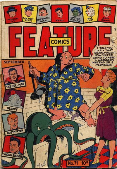 Cover for Feature Comics (Quality Comics, 1939 series) #71