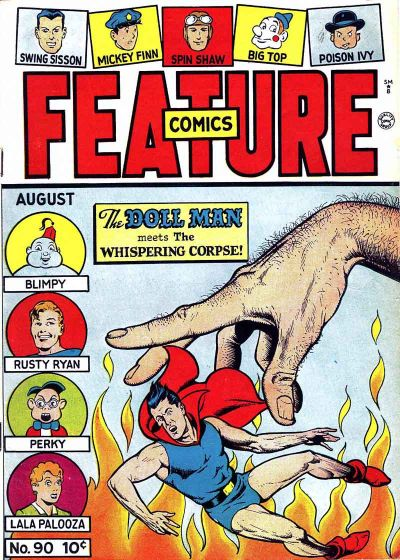 Cover for Feature Comics (Quality Comics, 1939 series) #90
