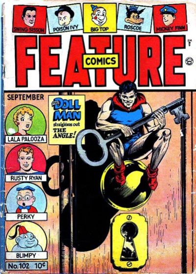 Cover for Feature Comics (Quality Comics, 1939 series) #102