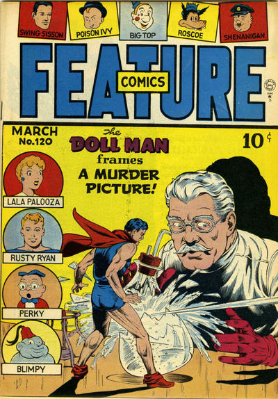Cover for Feature Comics (1939 series) #120