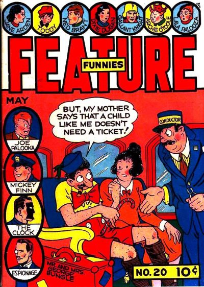 Cover for Feature Funnies (Quality Comics, 1937 series) #20