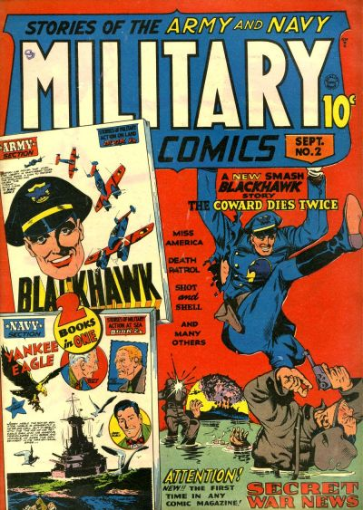 Cover for Military Comics (Quality Comics, 1941 series) #2