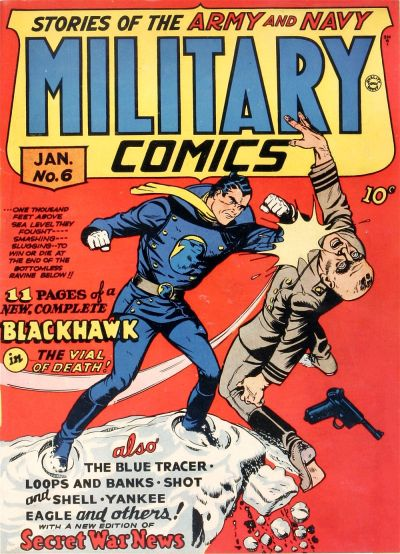 Cover for Military Comics (1941 series) #6