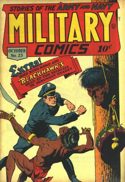 Cover for Military Comics (Quality Comics, 1941 series) #23