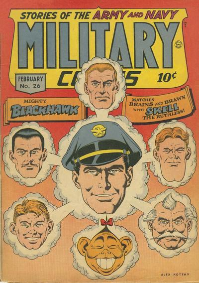 Cover for Military Comics (Quality Comics, 1941 series) #26