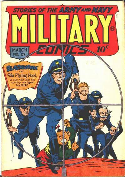 Cover for Military Comics (Quality Comics, 1941 series) #27