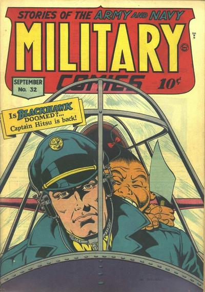 Cover for Military Comics (Quality Comics, 1941 series) #32