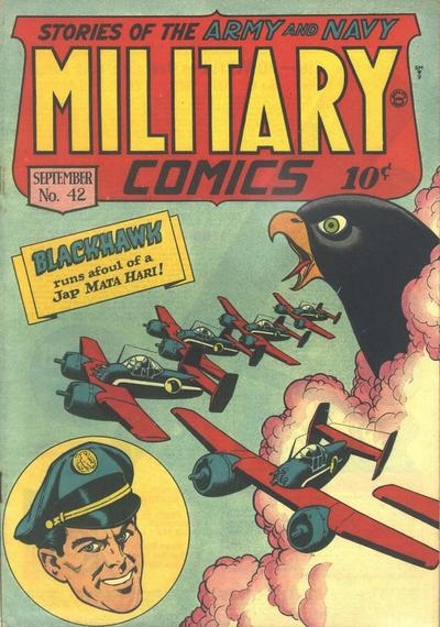 Cover for Military Comics (Quality Comics, 1941 series) #42