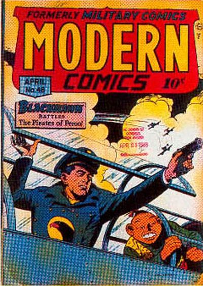 Cover for Modern Comics (Quality Comics, 1945 series) #48
